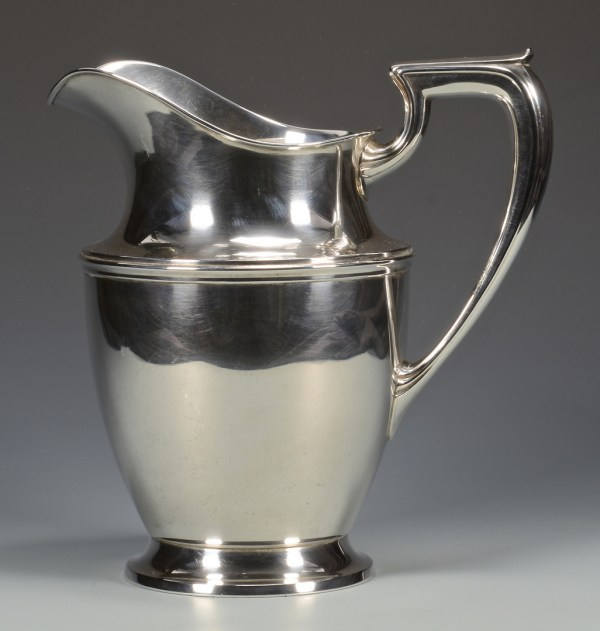Lot 678 Wallace Sterling Silver Water Pitcher