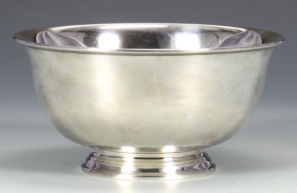 Lot 335 Tiffany Sterling Silver Bowl