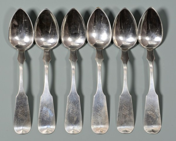 Lot 64 15 Louisville Ky Coin Silver Spoons