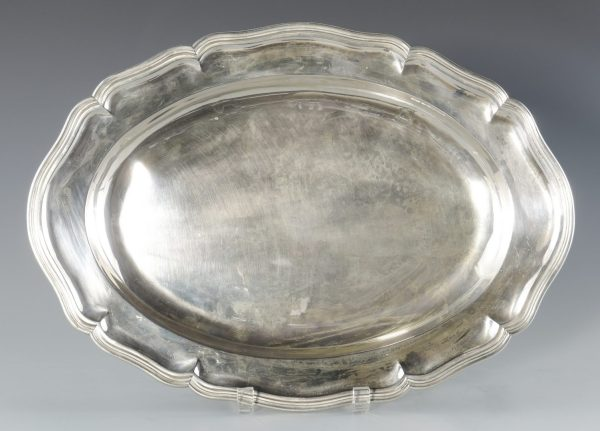 Lot 69 Continental .800 Silver Platter