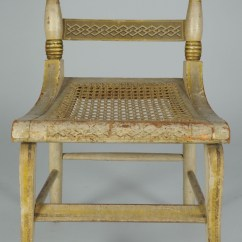 What S A Chair Rail Ingenuity High 3 In 1 Manual Lot 302: American Fancy Painted With Landscape Scene