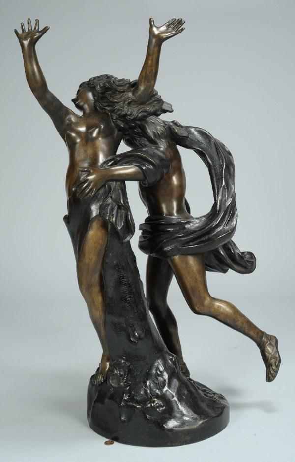 Lot 333 Bronze Sculpture Of Apollo & Daphne Bernini