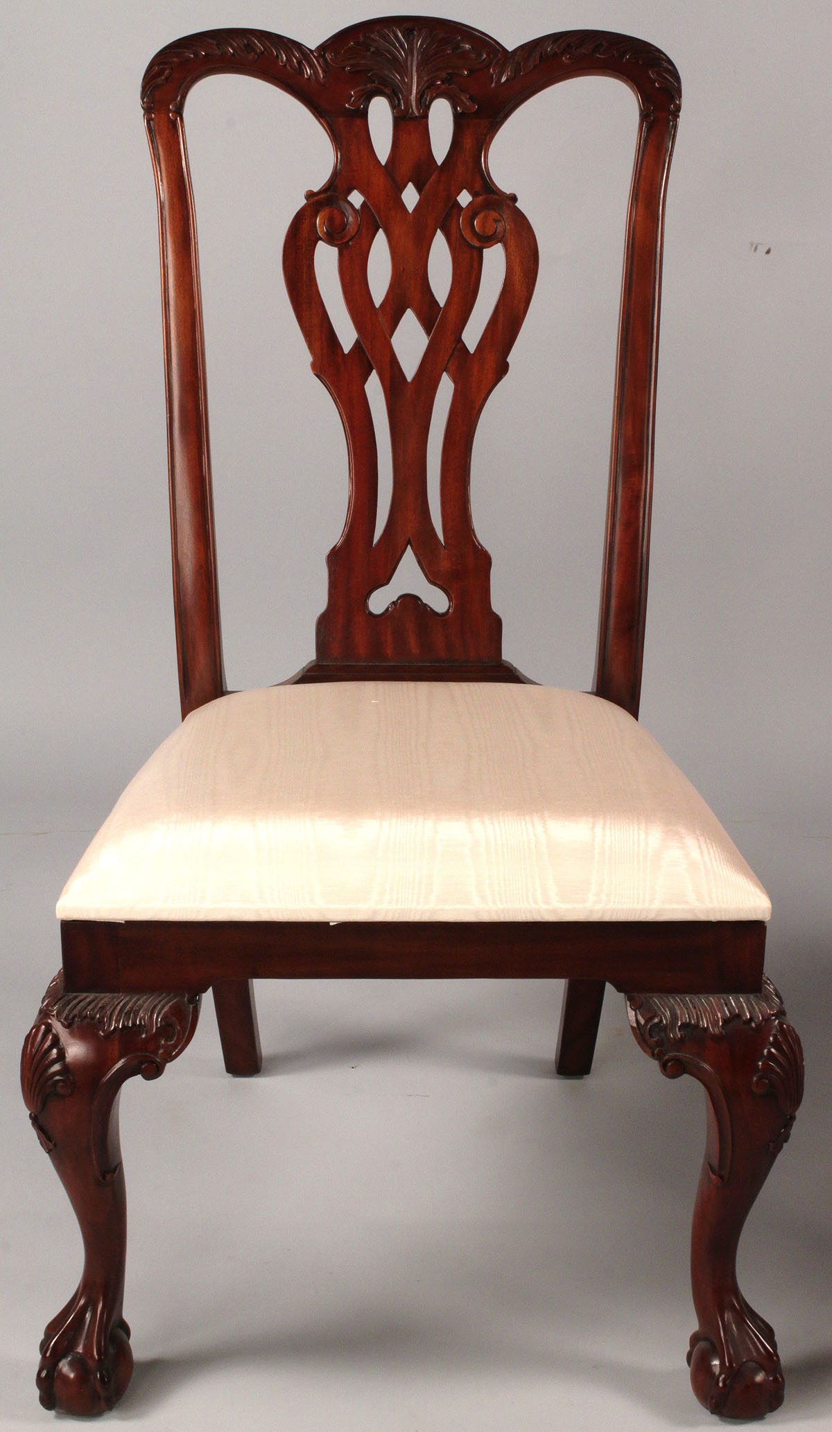 maitland smith dining chairs buy swing chair nz lot 514 assembled set 8 hickory and