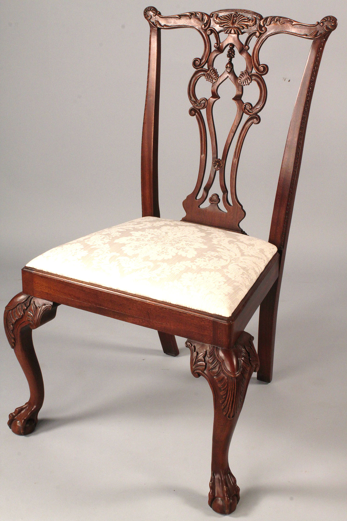 maitland smith dining chairs office chair new zealand lot 514 assembled set 8 hickory and
