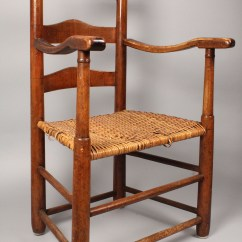 Ladder Back Cane Seat Dining Chairs Pink Desk Chair Uk Lot 518 East Tn Ladderback W Rivercane
