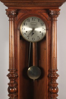 Lot 572 Westminster Chime Wall Clock