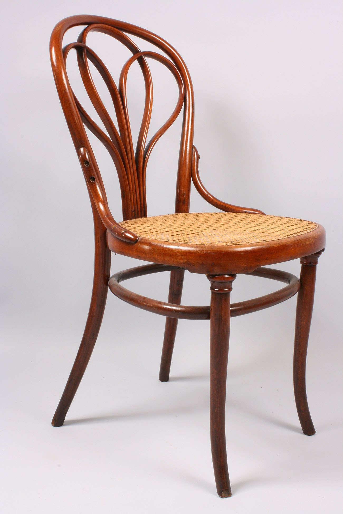 bent wood chair country kitchen table and chairs lot 144 thonet classic bentwood side model 31