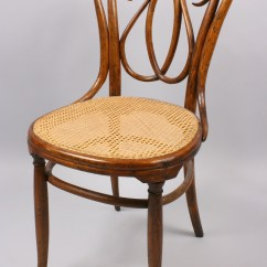 Bent Wood Chair Coors Light Lot 146 J And Kohn Bentwood
