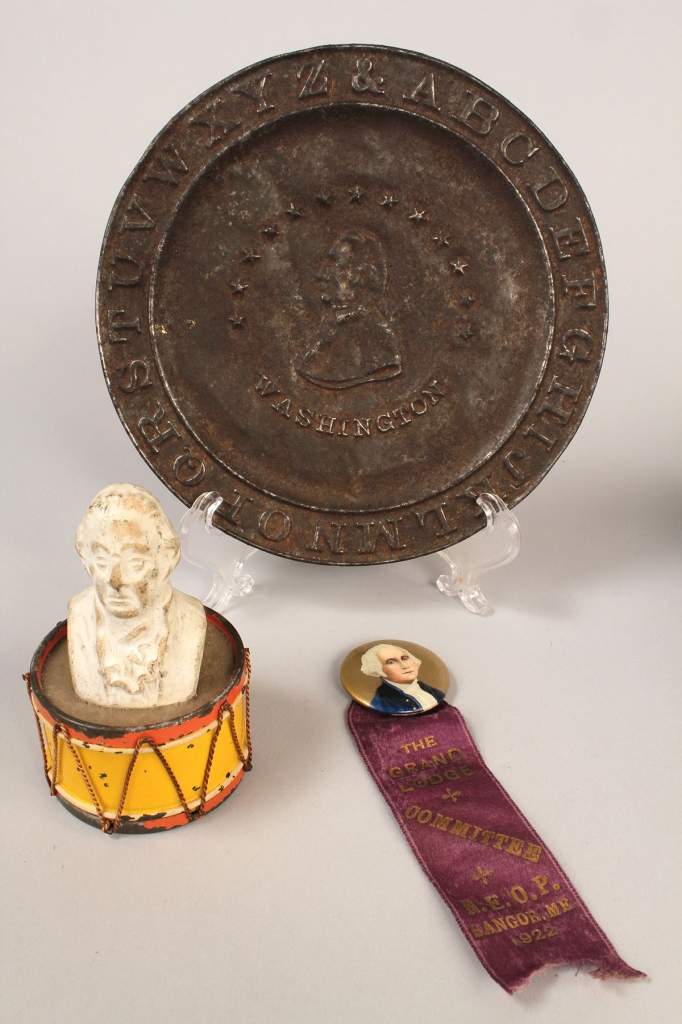 Lot 268 Lot Of 5 George Washington Related Items