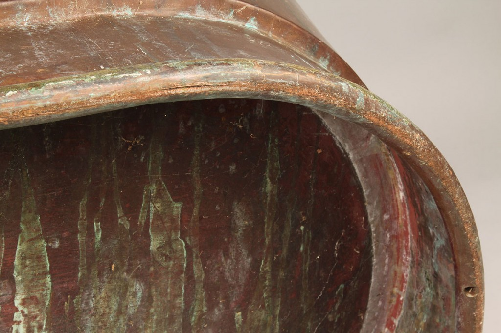 Lot 701 Copper Bathtub