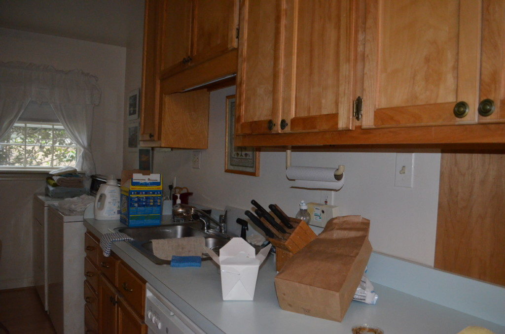 Kitchen before photo