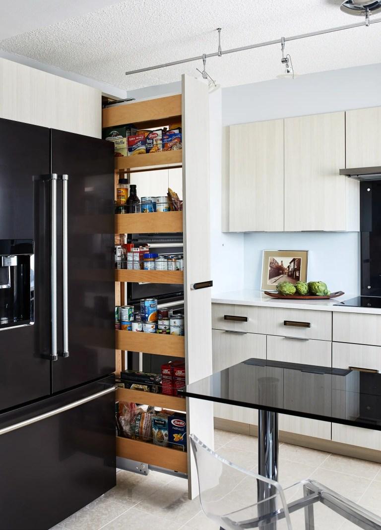 Kitchen Remodel in Alexandria Virginia with hidden pantry