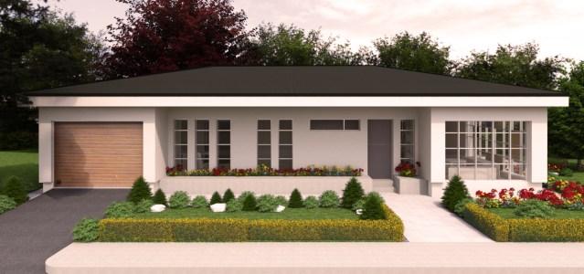 Proiect de casa moderna 106mp utili