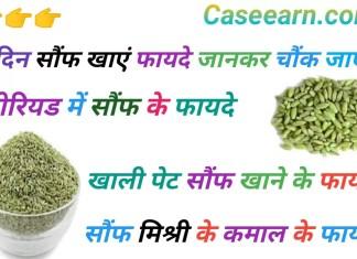 सौंफ खाने के फायदे। सौंफ मिश्री बादाम खाने के फायदे। Saunf khane ke fayde for skin and Hair .