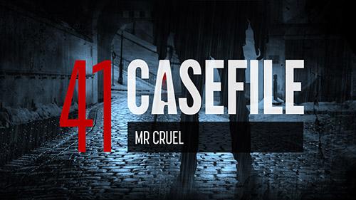 Case 41 Mr Cruel  Casefile True Crime Podcast
