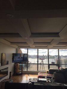Dartmouth Condo Renovation tray ceiling Case Design Remodeling Halifax