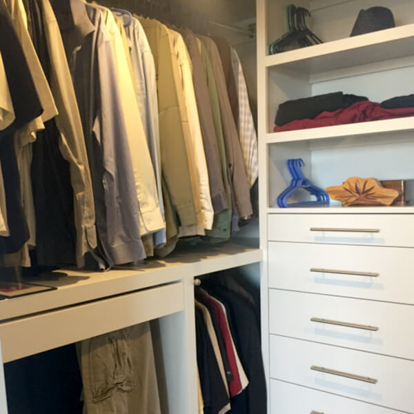 custom closet storage halifax case design