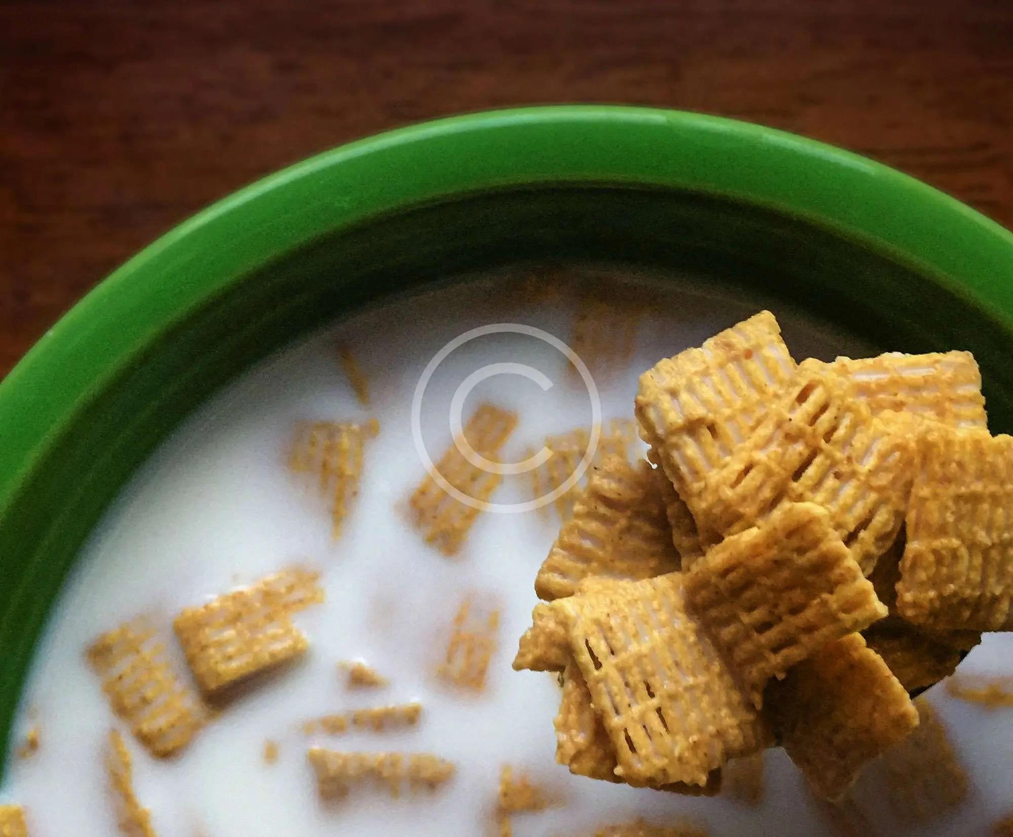 Cialde di Mais in Latte Crudo