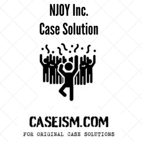 NJOY Inc. Case Solution and Analysis, HBS Case Study
