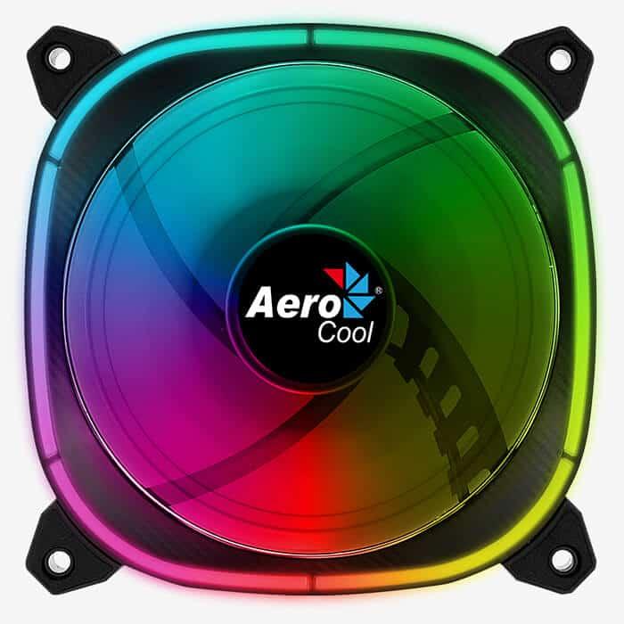 CaseKing - Ventilátor Aerocool Astro12 12cm ARGB LED