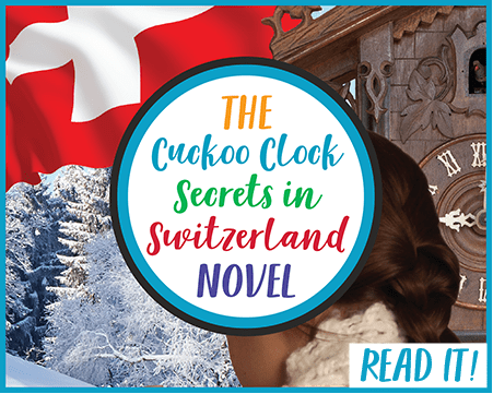 Cuckoo Clock Secrets in Switzerland Mystery Novel