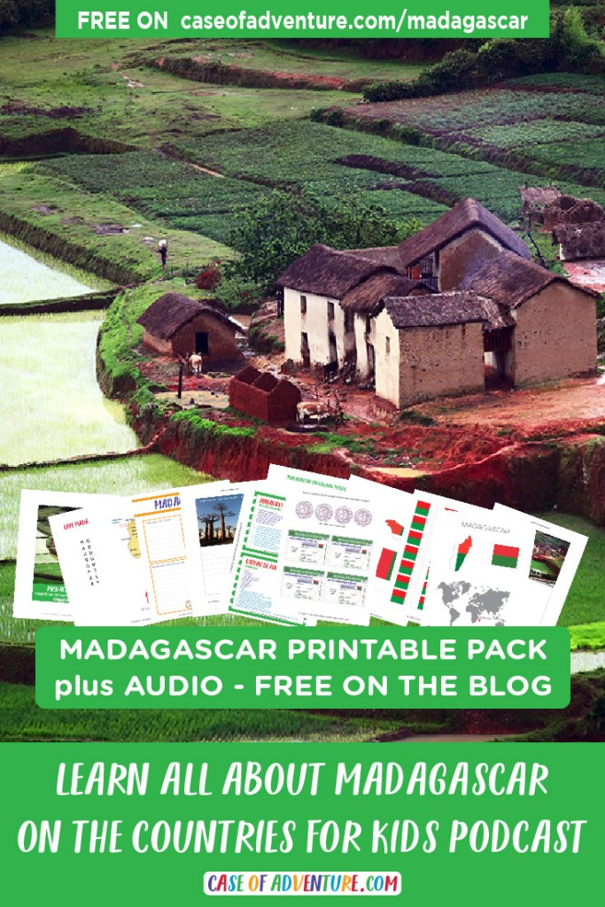 Madagascar - CASE OF ADVENTURE - Countries for Kids