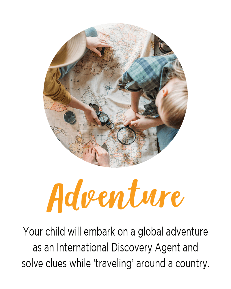 Countries for Kids - Case of Adventure .com