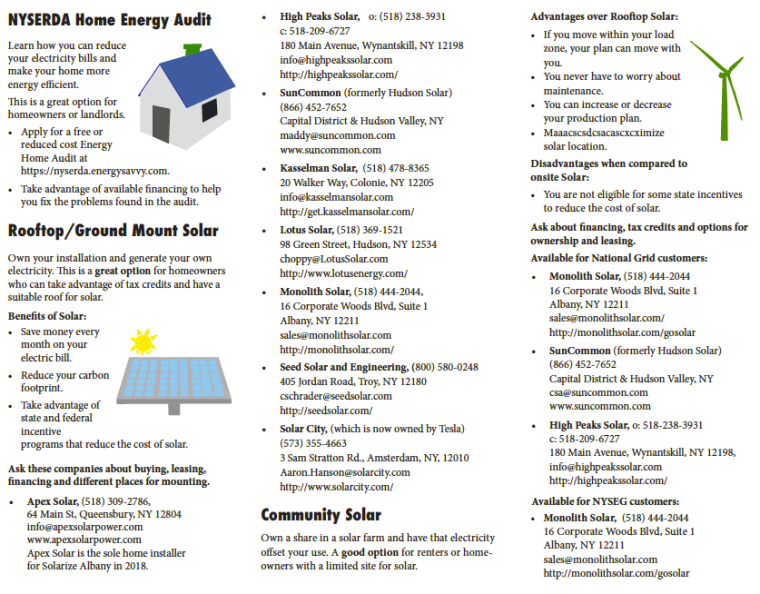 Go Green brochure page 2