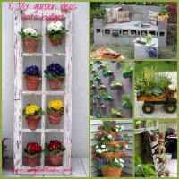 Idee giardino fai da te low cost * DIY garden ideas on a budget