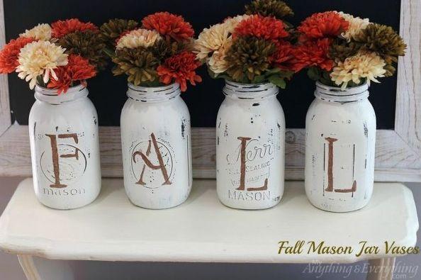 fall-mason-jar-vases-chalk-paint-mason-jars-repurposing-upcycling.2