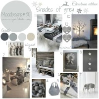 My moodboard on wednesday #27 - Christmas edition - Shades of grey