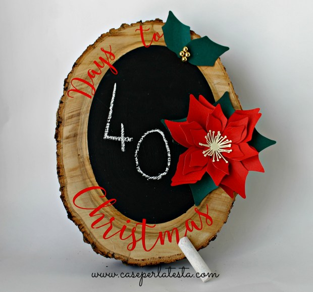 chalkboard advent calendar 1