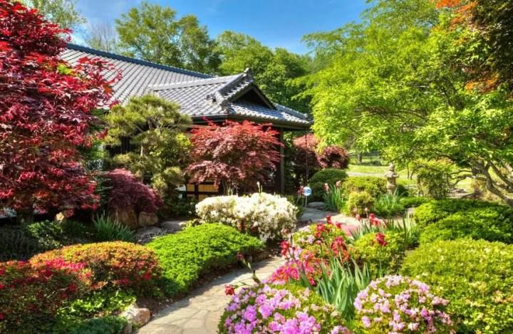 Casa in stil japonez in America