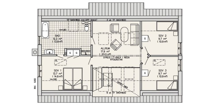 Case in stil scandinav Scandinavian homes 5
