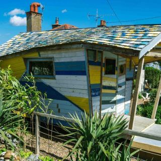 cele mai trasnite cabane din Marea Britanie in concurs