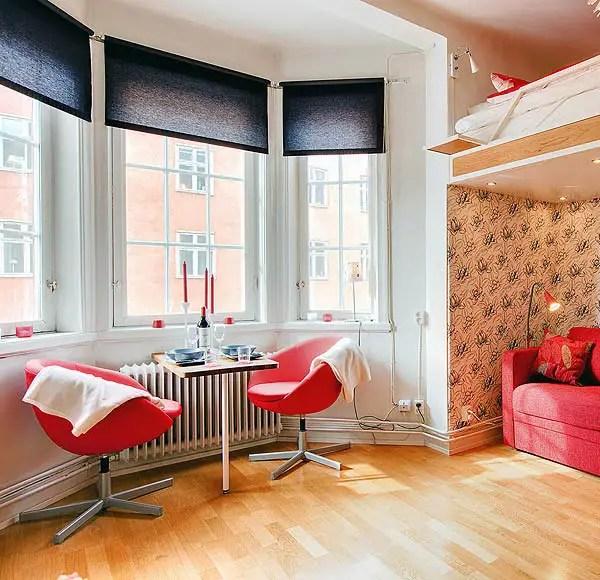 Idei de amenajare a apartamentelor mici foarte practice