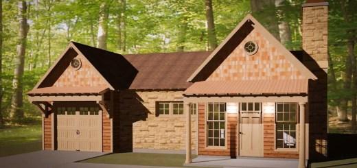 cele mai frumoase case mici proiect texas