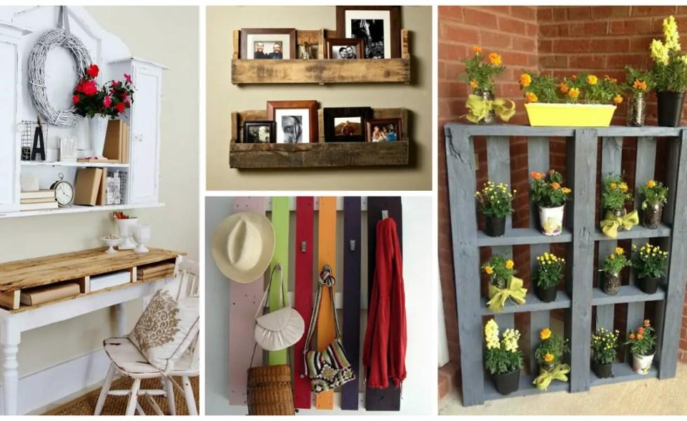 idei de mobilier din paleti de lemn
