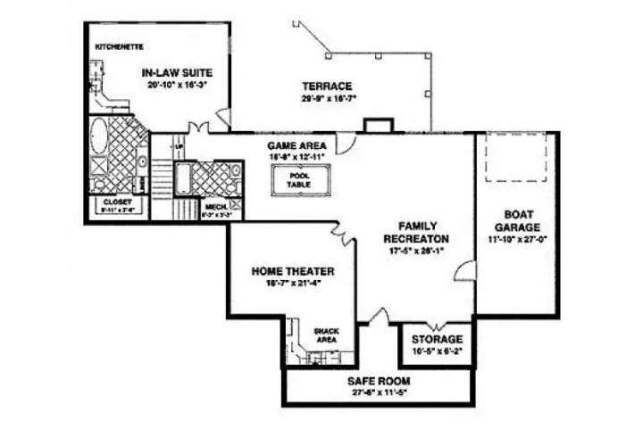 Proiecte de casa cu un etaj in stil american