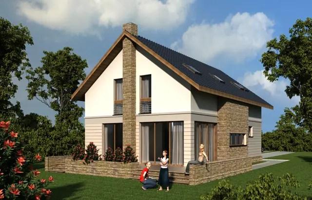 Proiecte de case cu beci si garaj idei pentru oameni mobili for Case cu etaj si garaj