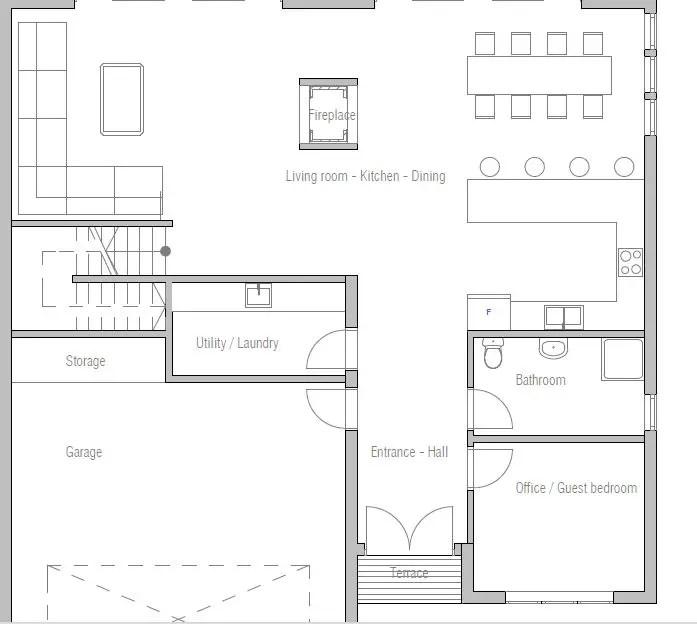 Proiecte de case in stil minimalist modern