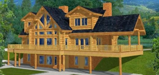 Proiecte de case la munte, cu subsol pentru toti