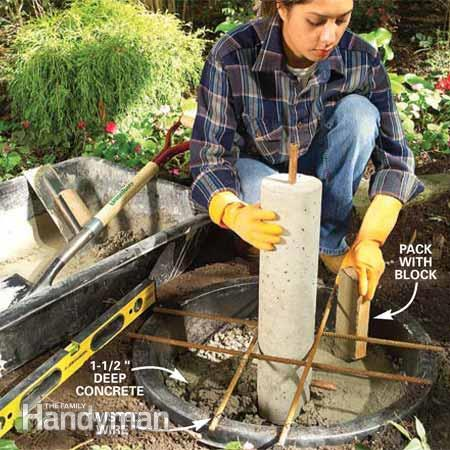 constructia unei fantani arteziene How to build an outdoor fountain with rocks 6