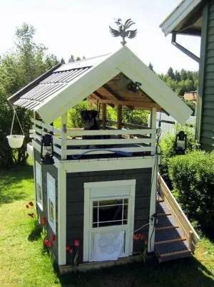 construirea unei custi de caine how to build a dog house with pallets 6