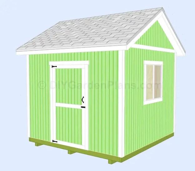 construirea unei magazii din lemn building a garden shed 8