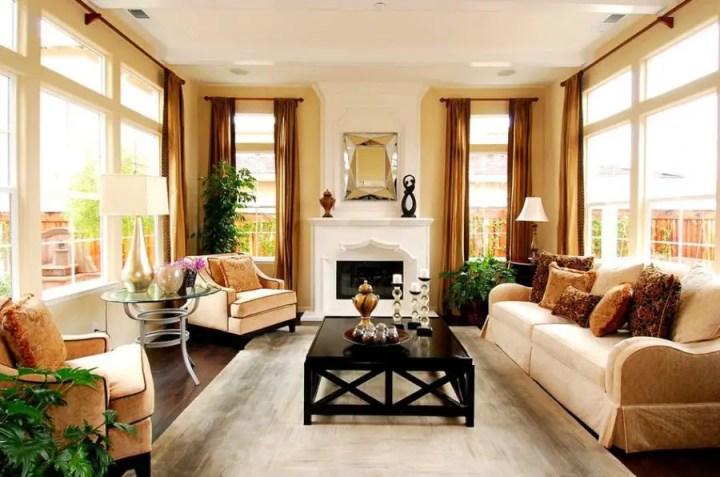 Interior in stilul art deco modern