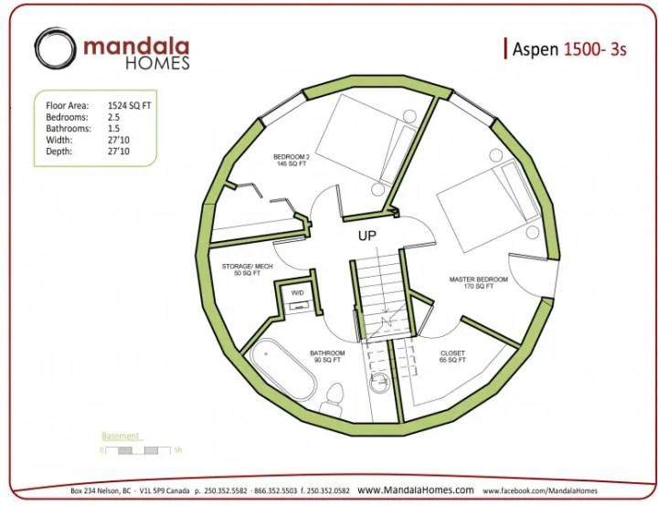 proiecte de case rotunde circular house plans 11