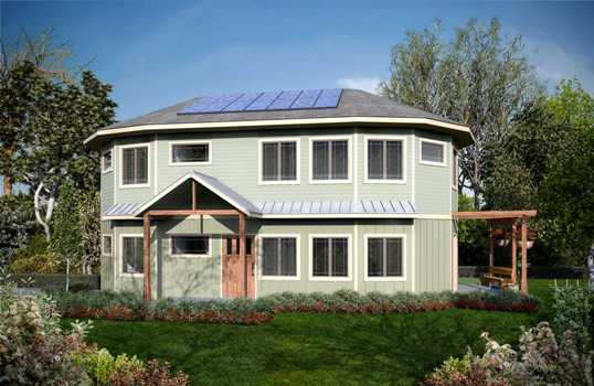 Proiecte de case rotunde neobisnuite