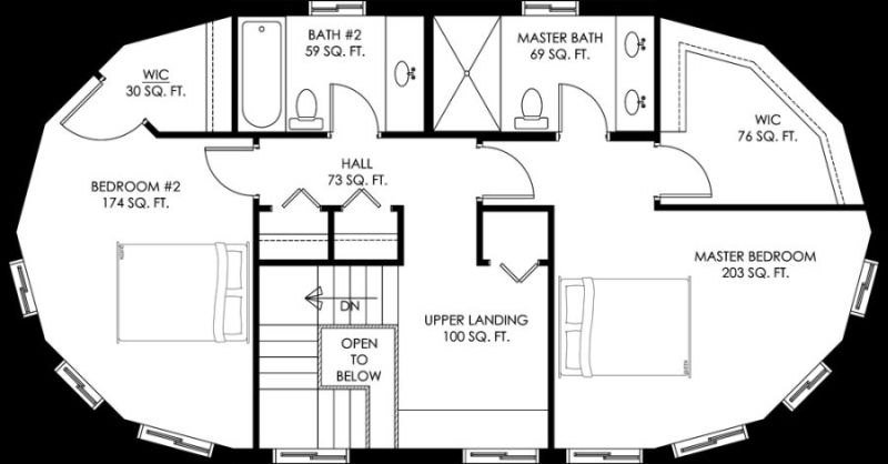 Circular House Plans