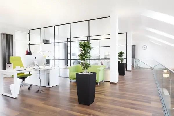 Amenajarea unui birou in stil modern Modern office interior design ideas 7